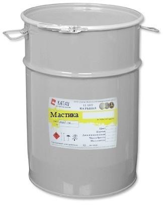 Мастика битумно-каучуковая